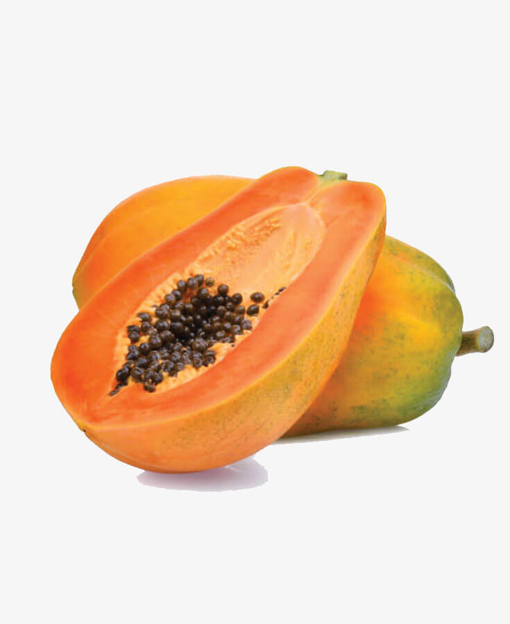 Papaya - Semi Ripe, 1 pc 600g-1.5 kg