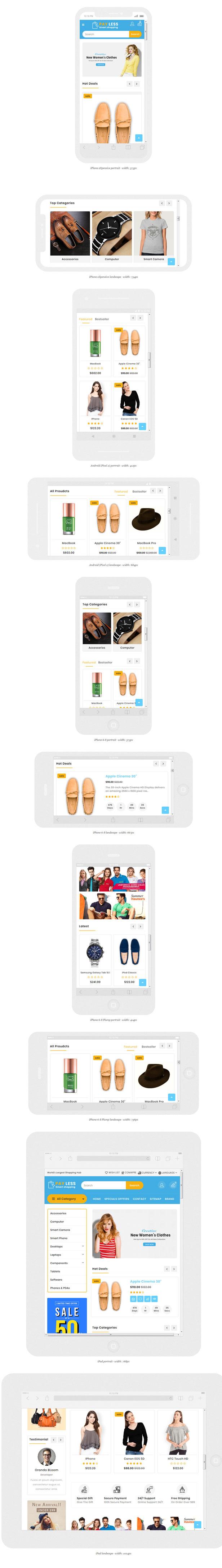 Payless Multipurpose shopping opencart 3.x theme - 1
